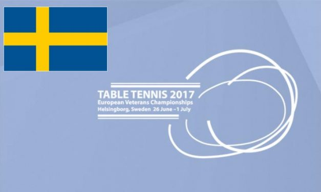 About to come – European Veterans Championships 2017 in Helsingborg (SWE)