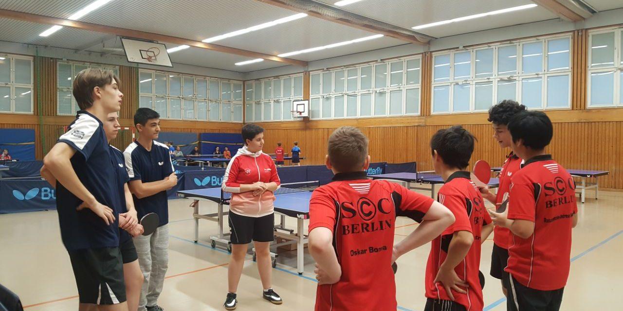 1. Jungen – Showdown beim SC Charlottenburg
